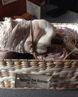 Natural Dyed Scarf